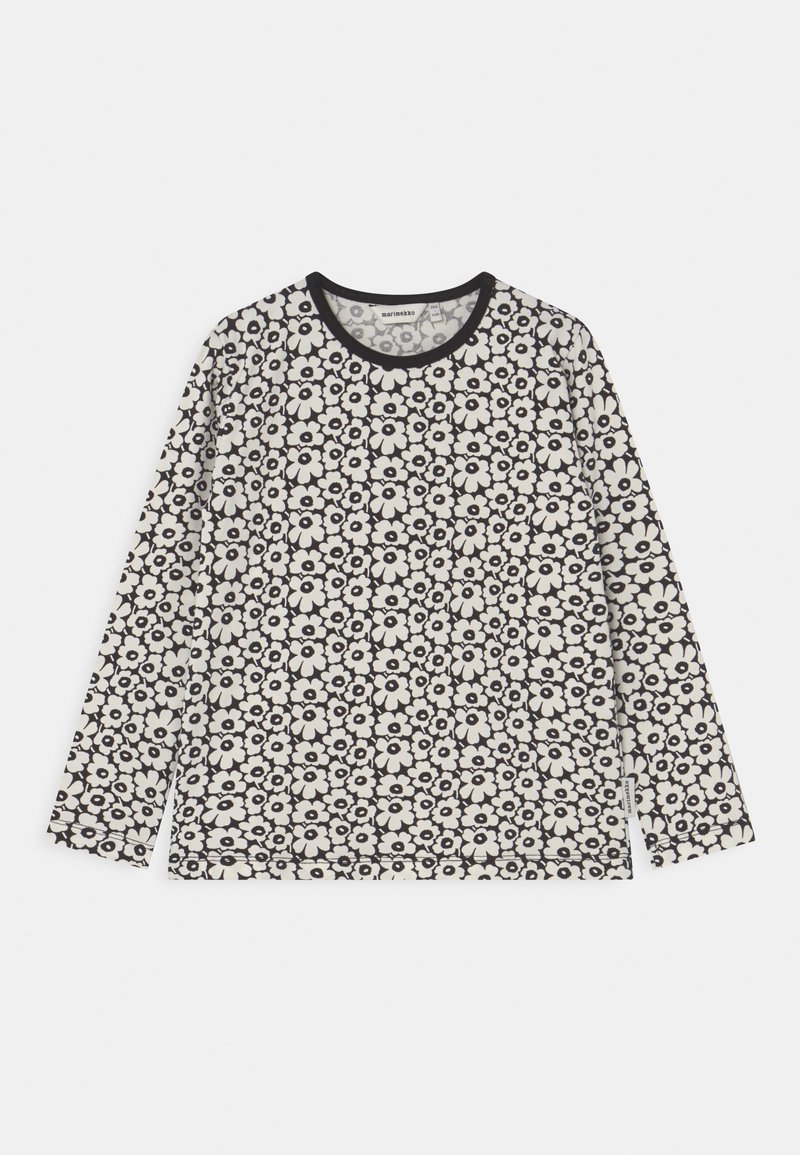 Marimekko - OULI PIKKUINEN UNIKKO - Long sleeved top - black/off white