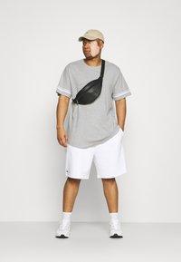 Only & Sons - ONSMATT LIFE LONGY STRIPE   - Print T-shirt - light grey melange - 1
