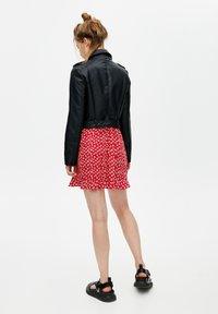 PULL&BEAR - Faux leather jacket - black - 2