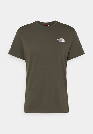 MENS SIMPLE DOME TEE - T-shirt basique - new taupe green