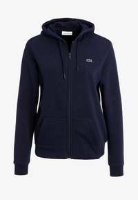 Lacoste Sport - WOMEN TENNIS - Zip-up hoodie - navy blue - 5