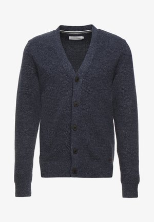 Cardigan - mottled blue