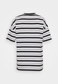Lyle & Scott - STRIPE - Print T-shirt - jet black - 1