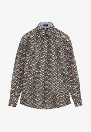 Button-down blouse - bunt gemischt