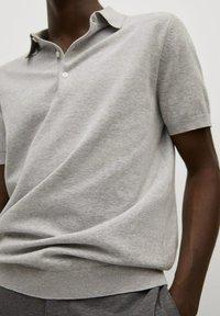 Mango - Poloshirt - gris - 5