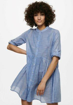 Shirt dress - cloud dancer