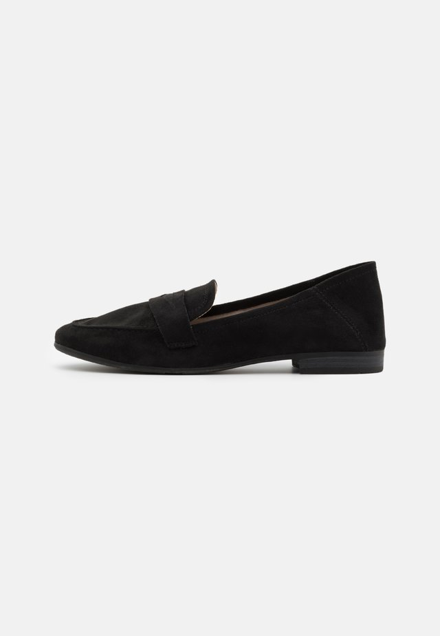 WOMS  - Loaferit/pistokkaat - black