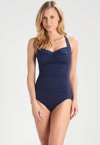 Seafolly - TWIST BANDEAU MAILLOT - Swimsuit - indigo - 0