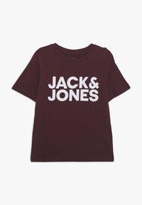 Jack & Jones Junior - JJECORP LOGO TEE CREW NECK - Print T-shirt - port royale - 0