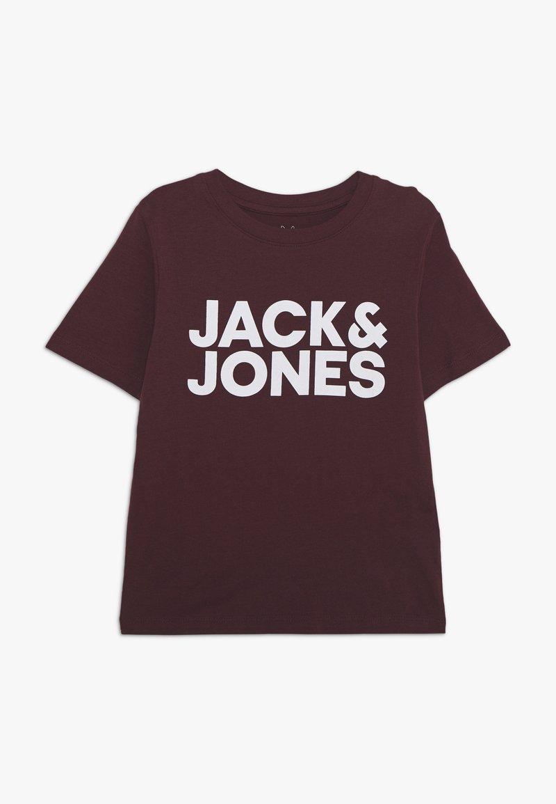 Jack & Jones Junior - JJECORP LOGO TEE CREW NECK - Print T-shirt - port royale