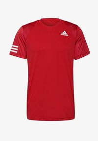 adidas Performance - 3-STREIFEN - T-shirt imprimé - red - 5