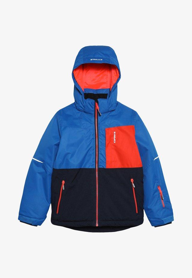 Snowboard jacket - blue/red/black