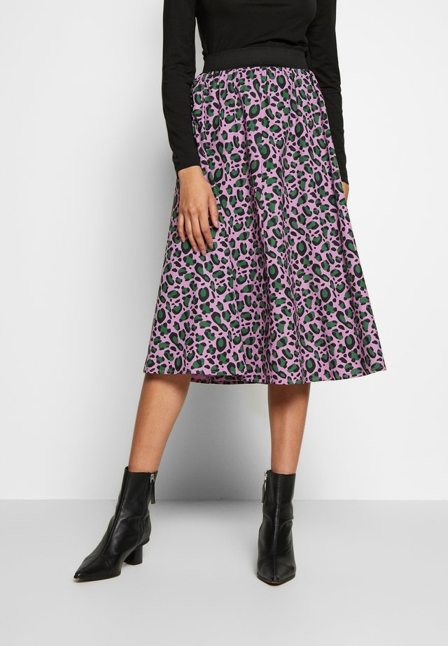 CHACHA SKIRT - A-snit nederdel/ A-formede nederdele - warm viola