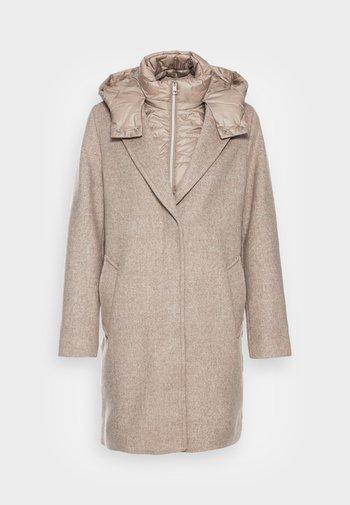 Classic coat - light taupe