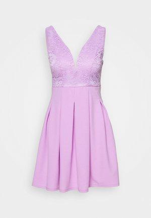 TOP MINI DRESS - Robe en jersey - lilac