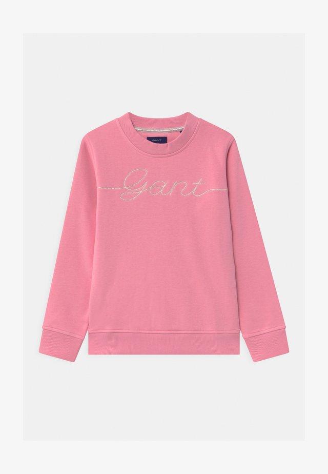 SCRIPT - Sweatshirt - sea pink
