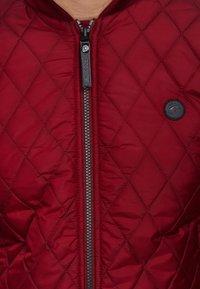 INDICODE JEANS - NOVAK - Light jacket - bordeaux - 4