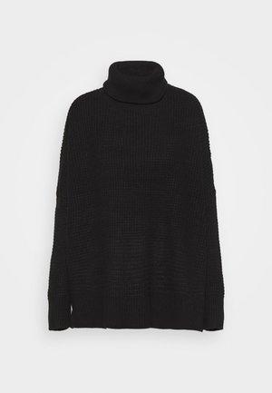 VMLEANNA COWLNECK - Jersey de punto - black