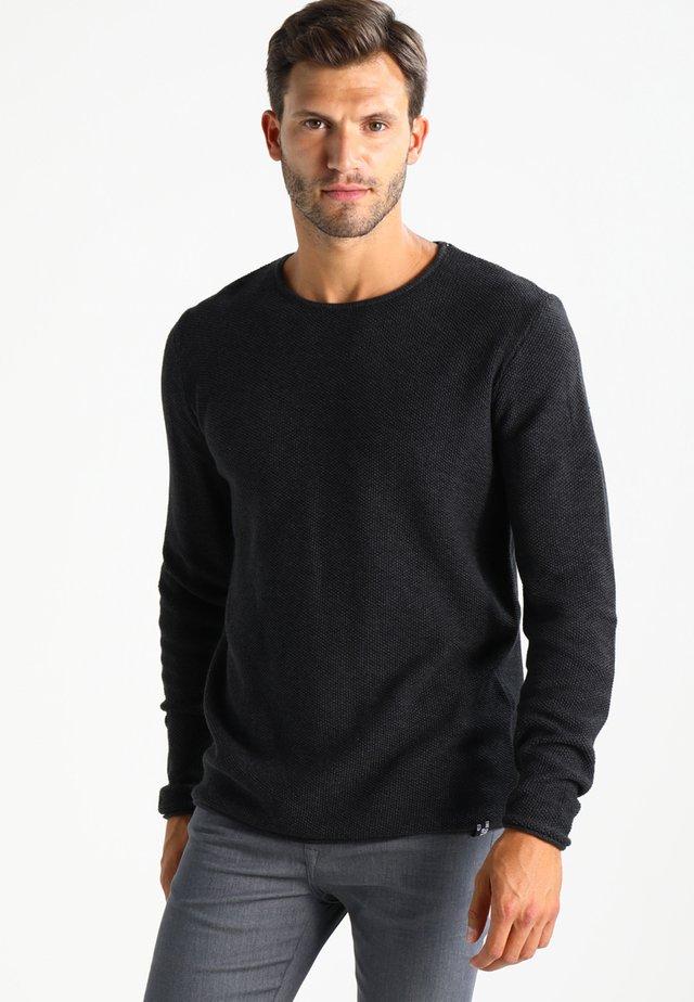 KRISTAN - Maglione - black