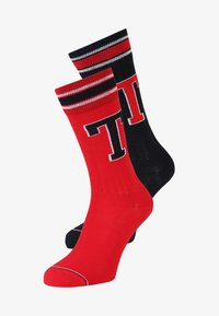 Tommy Hilfiger - PATCH 2 PACK - Calcetines - tommy original - 0