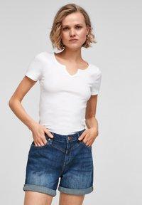 Q/S designed by - Denim shorts - blue - 0