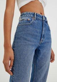 PULL&BEAR - Straight leg jeans - dark-blue denim - 3