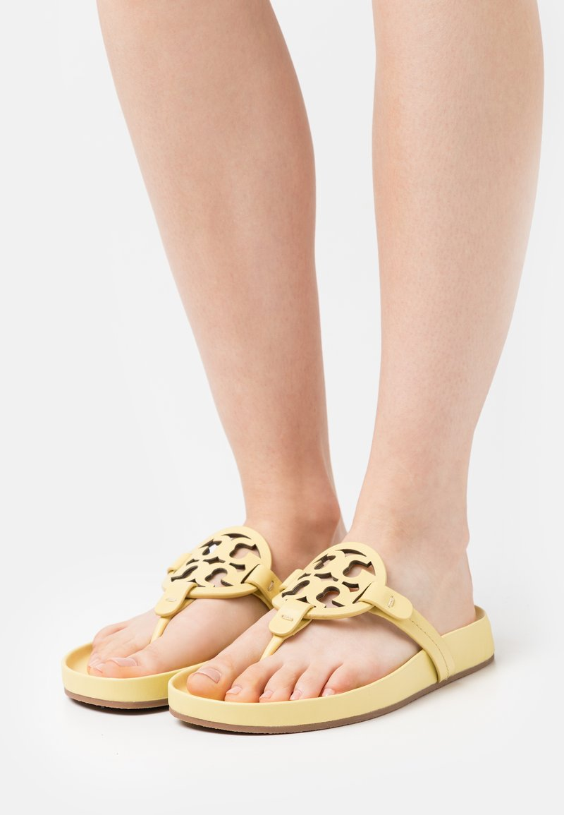 Tory Burch - MILLER CLOUD - T-bar sandals - butter yellow