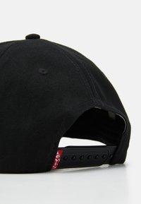 Levi's® - SERIF LOGO UNISEX - Cap - regular black - 3