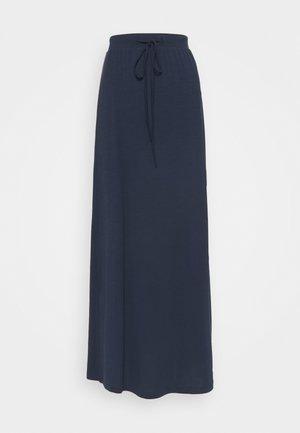 VMAVA ANCLE SKIRT - Falda larga - navy blazer