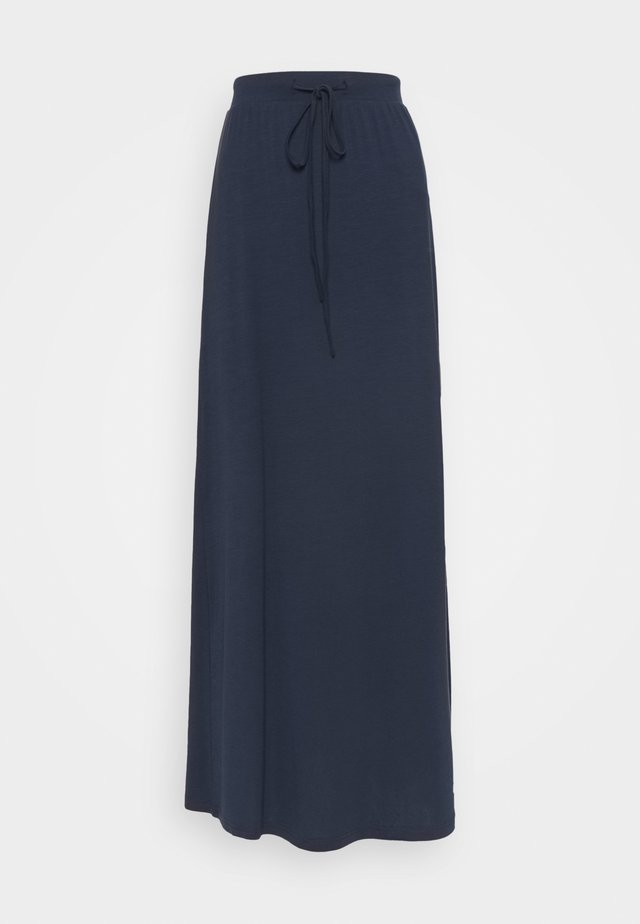 VMAVA ANCLE SKIRT - Gonna lunga - navy blazer