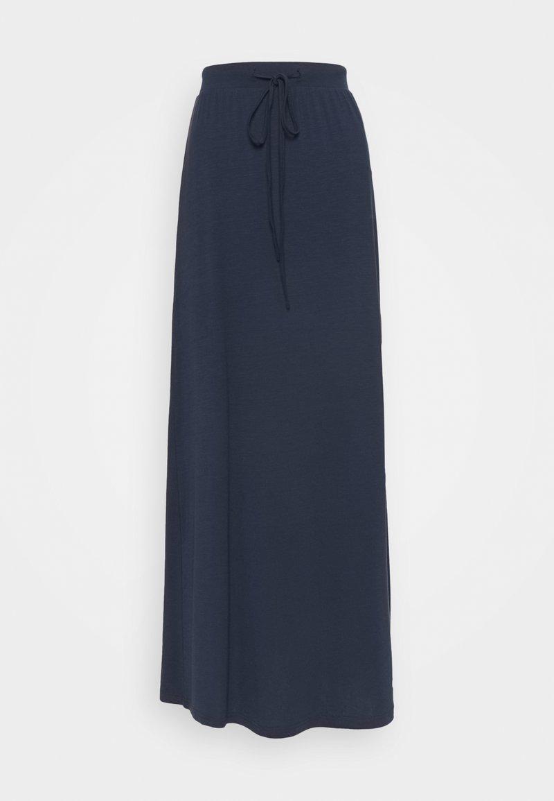 Vero Moda Tall - VMAVA ANCLE SKIRT - Maxi skirt - navy blazer