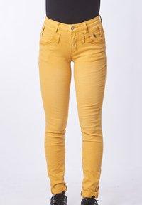 Buena Vista - Trousers - dark yellow - 0