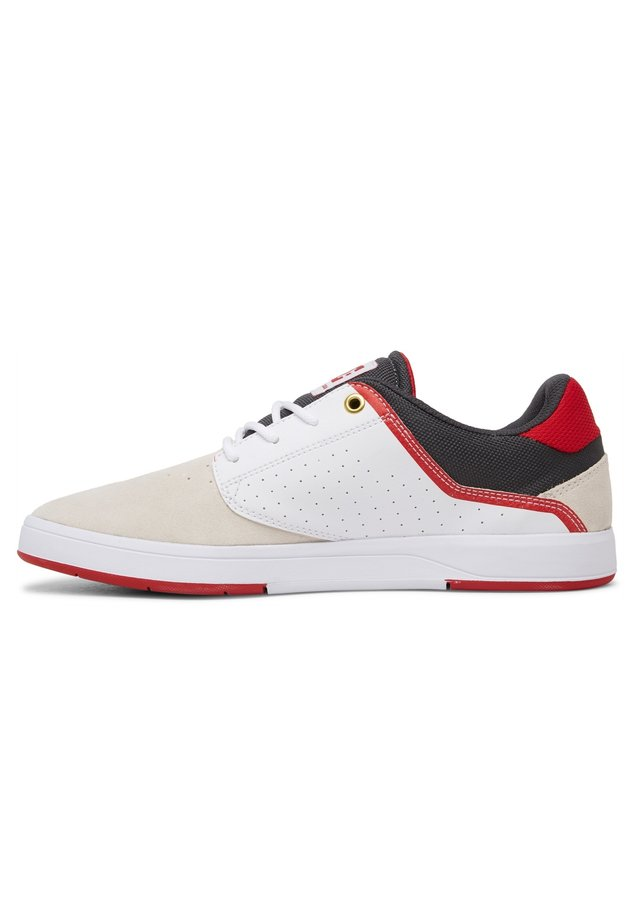 PLAZA  - Sneakers laag - white/grey/red