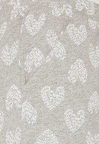 Hunkemöller - PANT HEART - Pyjama bottoms - grey melee - 2