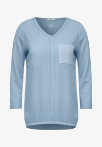 Cecil - Long sleeved top - blau - 2