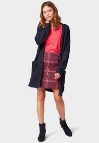 TOM TAILOR - ROCK - A-line skirt - red pink - 1