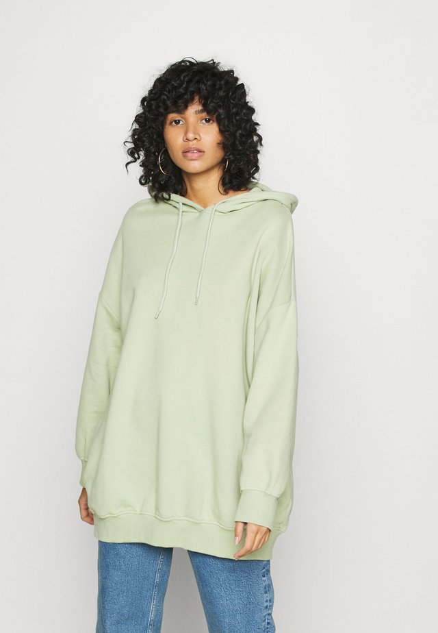 BAE HOODIE UNIQUE - Bluza z kapturem - green