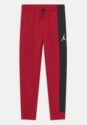 AIR SPECKLE PANTS - Tracksuit bottoms - gym red