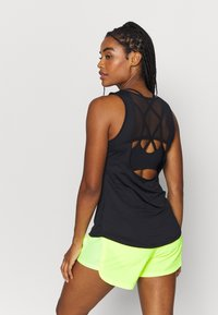Nike Performance - TANK RUNWAY - Top - black - 2