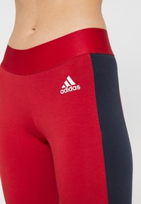adidas Performance - SID - Collants - active maroon/legend ink - 5