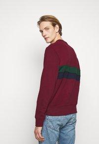 Polo Ralph Lauren - Sweatshirt - bordeaux/dark green/dark blue - 3