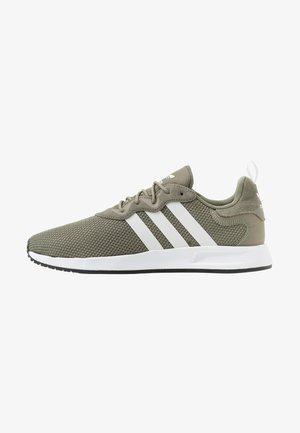 X_PLR - Matalavartiset tennarit - green/footwear white/core black