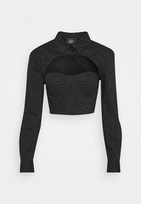 Pepe Jeans - DUA LIPA X PEPE JEANS - Overhemdblouse - black - 3