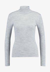 Selected Femme - Jumper - light grey melange - 3