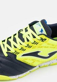 Joma - LIGA 5 - Indoor football boots - yellow/black - 5