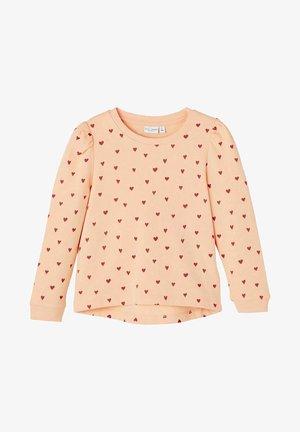 Sweatshirt - peach nectar