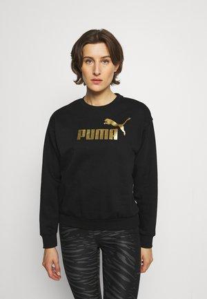 Sweatshirt - black gold