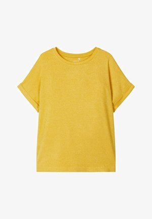 T-shirt print - spicy mustard