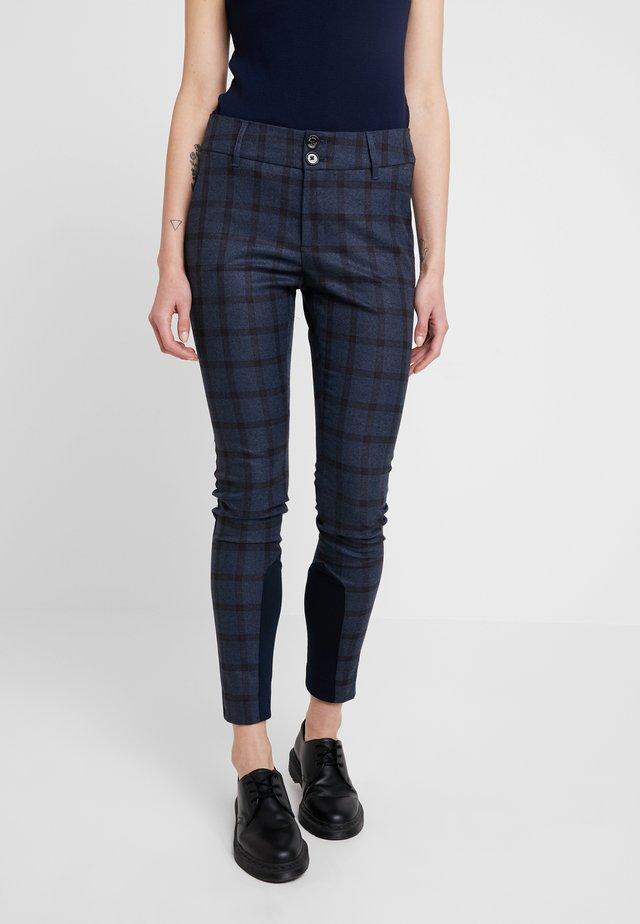 BLAKE CARLI PANT - Trousers - mood indigo melange