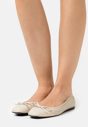 ESSENTIAL SQUARE TOE  - Ballet pumps - classic beige